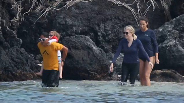 Megyn Kelly and her husband Douglas Brunt vacation in Hawaii with the kids.