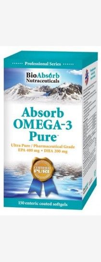 Absorb Omega-3 Pure - Health and Wellness for the Brain Omega-3 from fish oil containing EPA and DHA may contribute to: • Normal development and maintenance of the brain, eyes, and nervous system in young children • Normal cognitive development in children