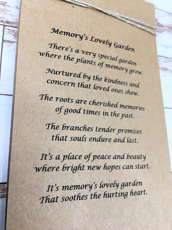"""10 X Personalised /""""forget-me-not/"""" seeds Funeral condolence memorial with photo"""
