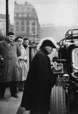 Henri Cartier Bresson - Académicien, Paris, France, 1953.