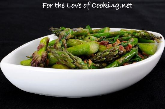 Sautéed Asparagus with Bacon and Dijon by Pam on March 20, 2012