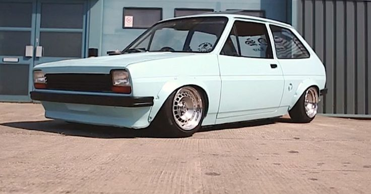 Ford Fiesta Mk1 | Lowered, Slammed, Stance