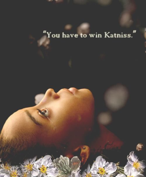 So sad Katniss was like a sister to Rue and she died