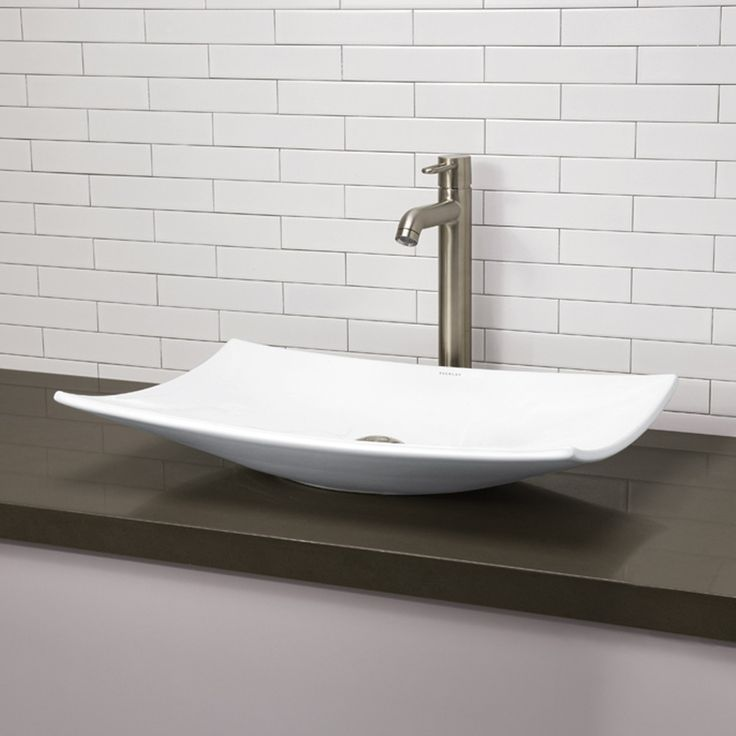 Classically Redefined Modern Vessel Sink