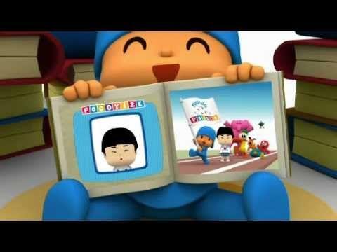 Los Pocoyó Games 2012 - ¡Salto con pértiga! - YouTube
