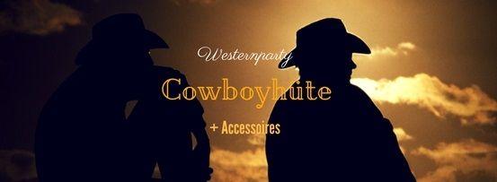 Party-Extra Cowboyhüte