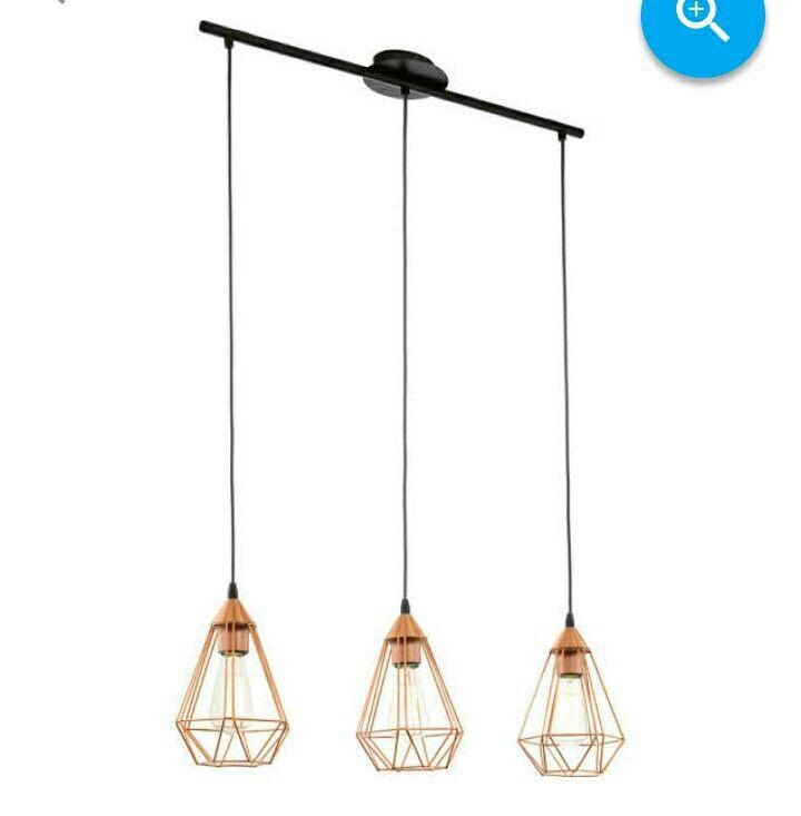 Hanging lamp by Elgo #vintage #koper