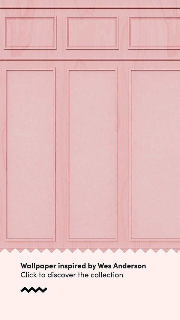 Wes Anderson Wallpaper Feature Wall Design Weserson