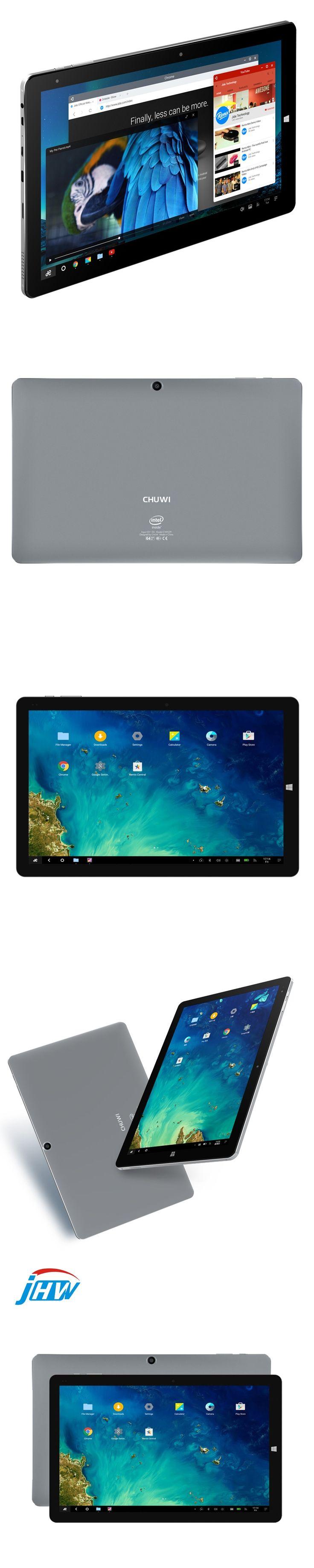 "chuwi Hi10 Pro Dual OS 10.1"" 2in1 Tablet PC Intel Cherry Trail Z8350 Windows 10 & Android 5.1 4G RAM 64G ROM 1920x1200Type-C 3.0"