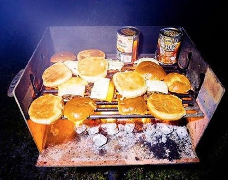 Great picture by @anthonyjrayburn cooking up some BUBBA burgers with this perfect weather for camping!  #BUBBAburger #BUBBAburgers #hamburger #burger #burgers #camping #campingseason #grillseason #fanpics #grillmaster #grill #cooking #cookout #foodpics #foodphotography #burgerlife #burgerlove #delicious #tasty #family #friends #food #foodie