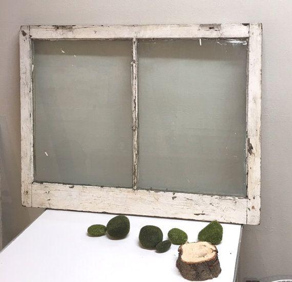 best price old window pane frame antique distressed rustic wedding sign restoration salvage old white chippy paint - Distressed Window Frame