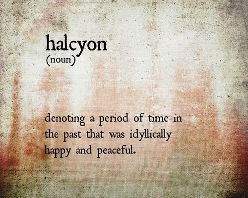 one of my favorite words
