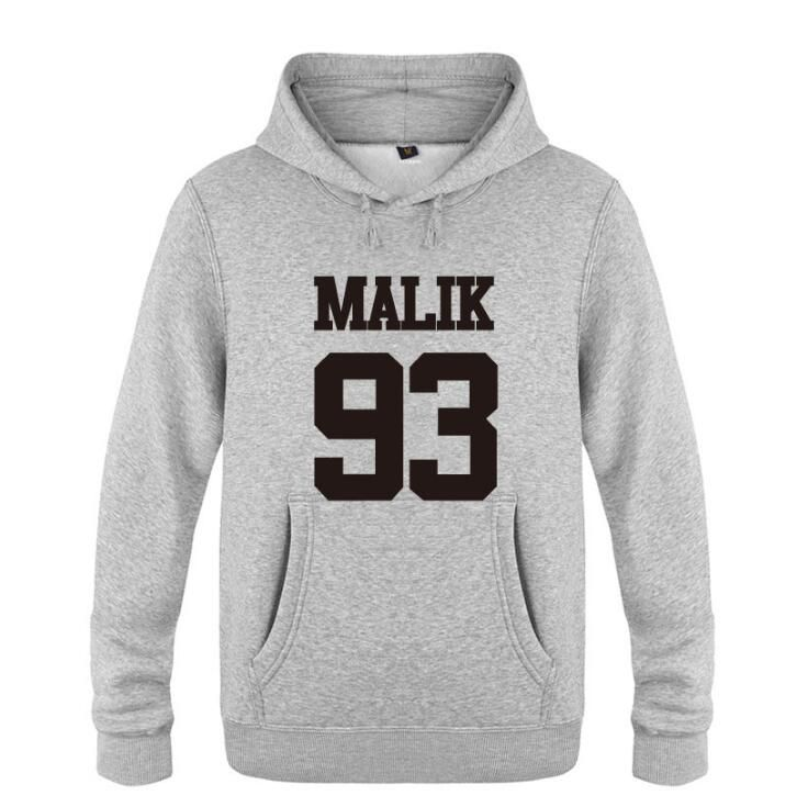 2017 New Men Women Spring Autumn Malik 93 One Direction 1D Pullover Clothing Casual Sweatshirts Hoodies Jacket Coat #Affiliate