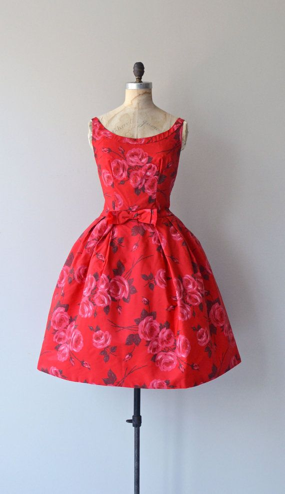 Love and Love Again dress vintage 1950s dress by DearGolden