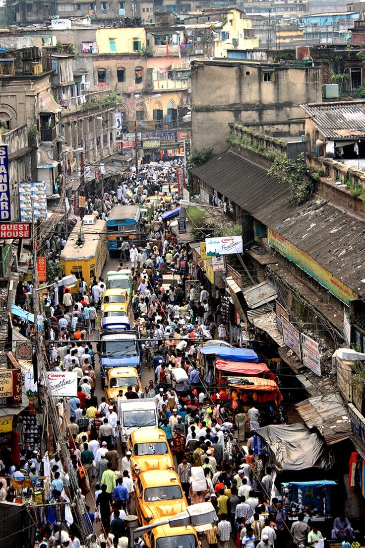 CITY OF CROWD #kolkata #india