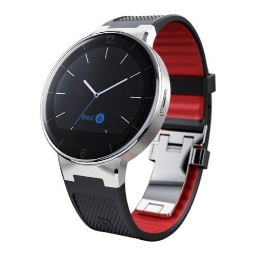 Alcatel-One-Touch-Watch-SM02-Android-4-3-iOS-Smartwatch-Armbanduhr-schwarz-WOW