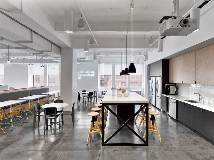 """Fullscreen, a global media startup that empowers popular YouTube channels and networks recently moved intoa new office in New York City, designed by interior design firm Rapt Studio. """"For this ... Read More"""