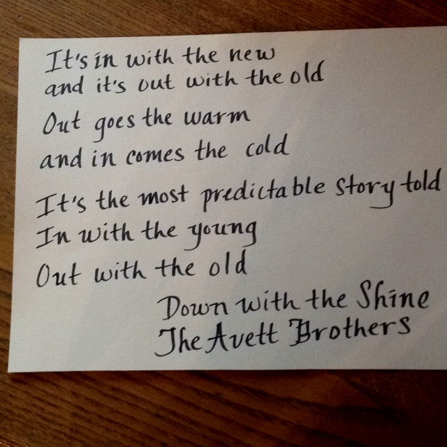 The Avett Brothers:A Gift For Melody Anne Lyrics ...