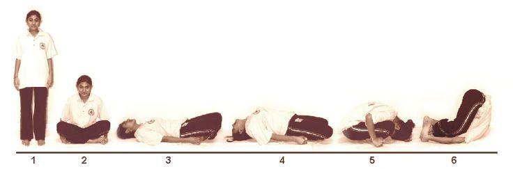 4. Meenasanam (Fish Pose)
