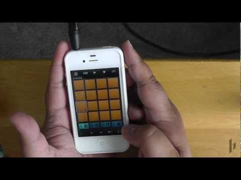 Intro to iMaschine: Making Beats on your iPhone - YouTube