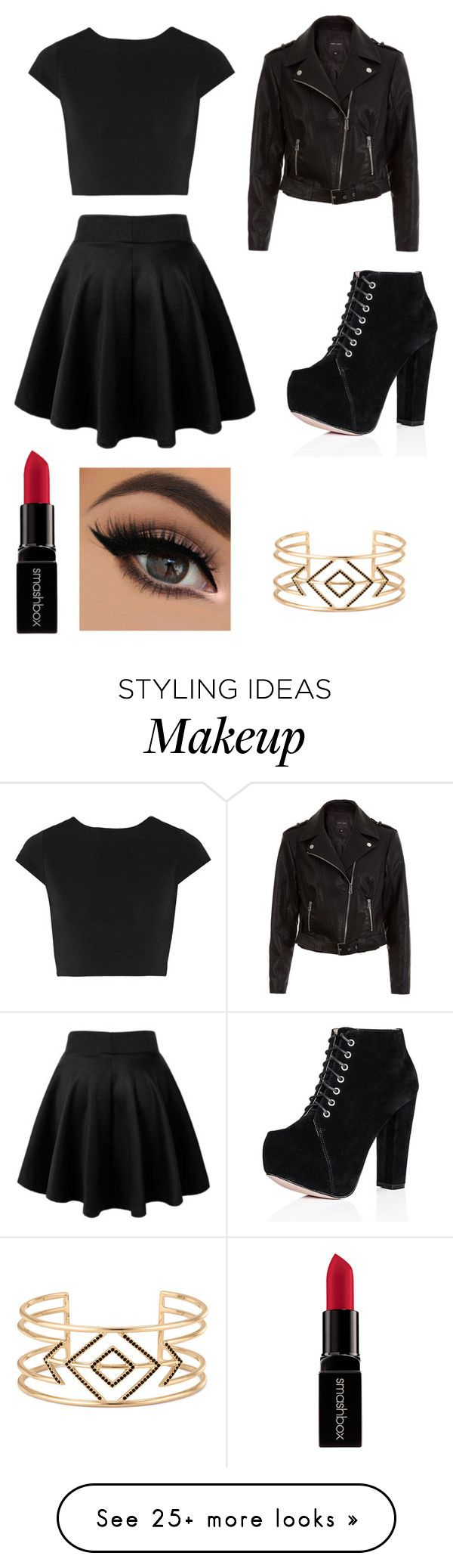 """Untitled #1"" by jihanedina724 on Polyvore featuring Alice + Olivia, Smashbox, Stella & Dot, women's clothing, women's fashion, women, female, woman, misses and juniors"
