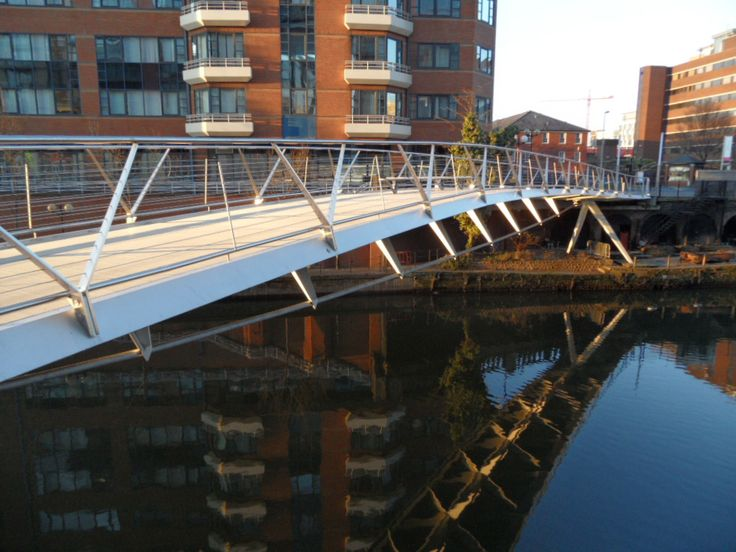 The Happy Pontist: Manchester Bridges: 22. Spinningfields Footbridge