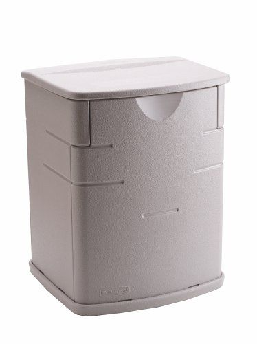 Rubbermaid 18 By 17 By 23 Inch Small Deck Box #