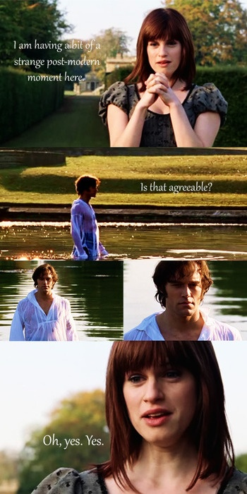Lost in Austen- Great scene!... I'm sure I've pinned it before, but love it!