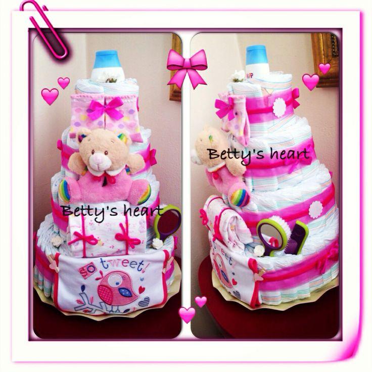 Préférence 120 best Diaper Cakes - Torte di pannolini images on Pinterest  KR03