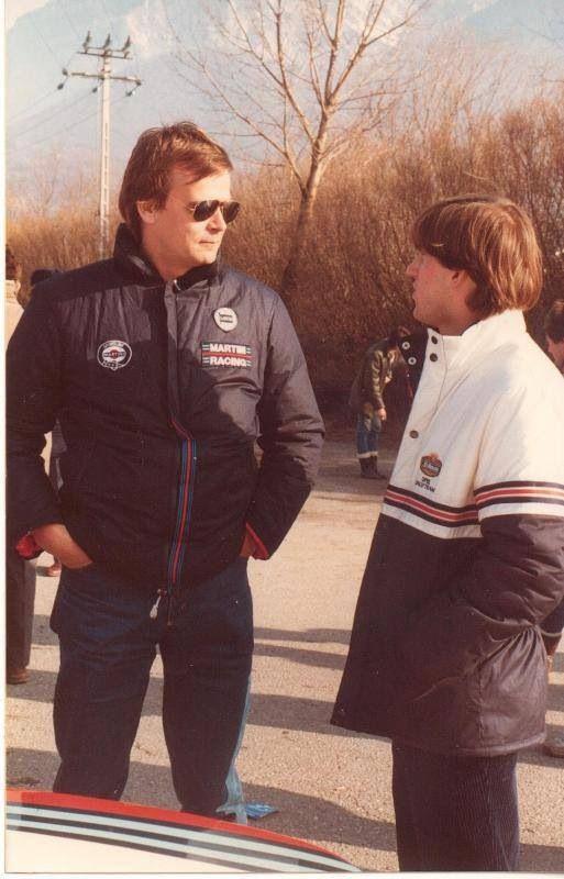 Markku Alen and Henri Toivonen, future teammates.