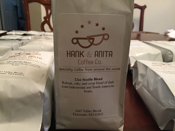 A seattle blend a dark roast of indonesian and south