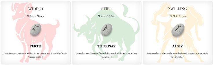 Runen Tageshoroskop 5.5.2017 #Sternzeichen #Runen #Horoskope #widder #stier #zwilling