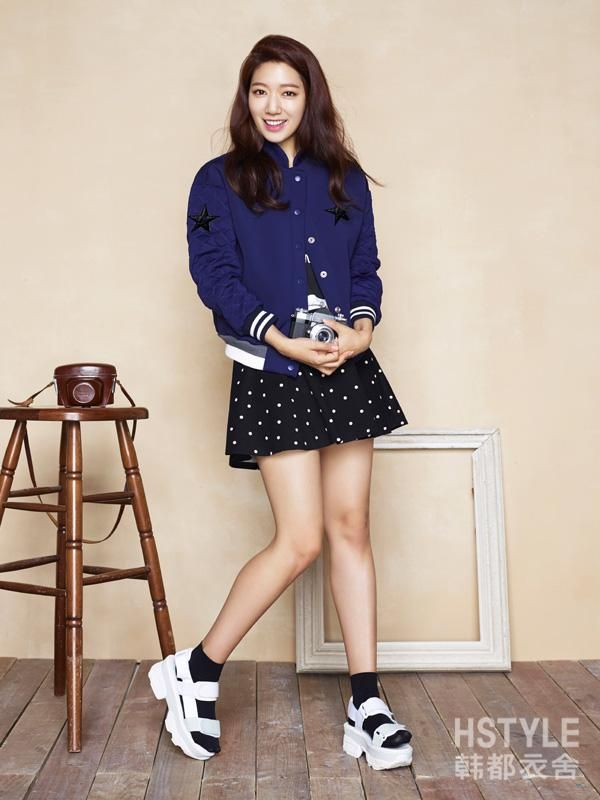 Park Shin Hye for Hstyle Tmall F/W Collection 2015