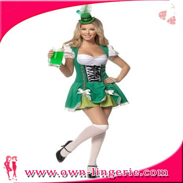 >> Click to Buy << Luck of the Irish costume green dress costume for naughty girl w1363 #Affiliate