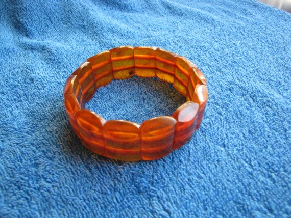 Genuine Natural Baltic amber 32 gr bracelet cognac by ambergems93