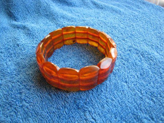Genuine Natural Baltic amber 32 gr bracelet cognac by ambergems93