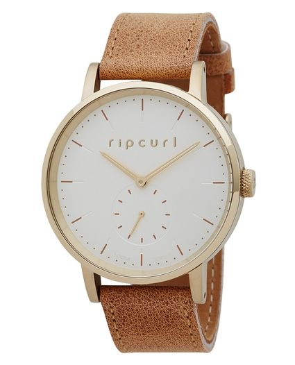 CIRCA WATCH LEATHER GOLD | RIP CURL