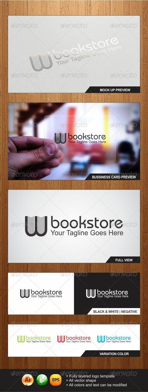 W Bookstore Logo Template – Graphicriver
