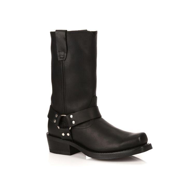 Durango Women's Harness Western Boots, Size: medium (9.5), Black, Durable