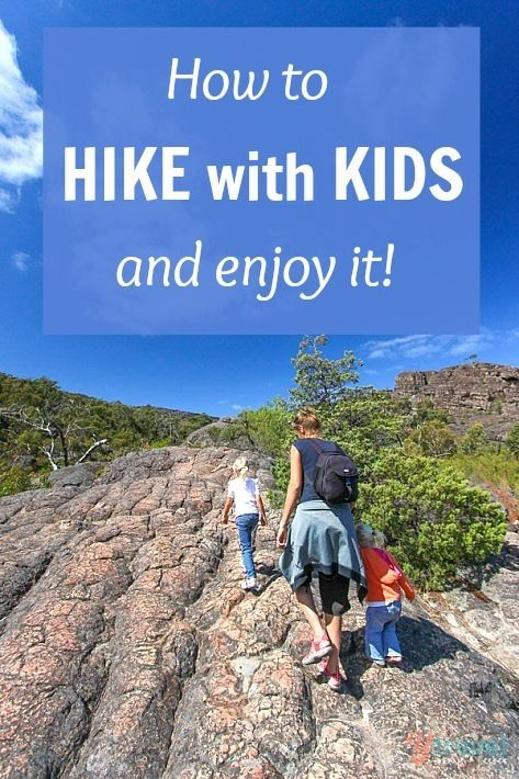 Hiking with kids is not only possible, but can be fun, rewarding, and one of the best bonding activities as a family. These tips to help you hike with kids