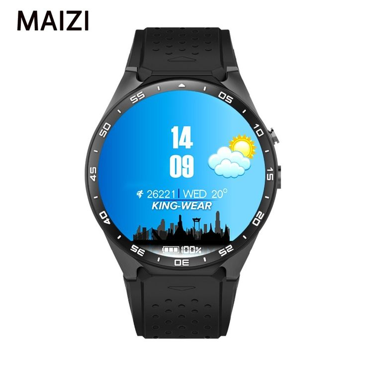 2016 Smartwatch 3G Kingwear KW88 PK Finow X5 X61.39 ''Amoled 400*400 Smart Uhr 3G Aufruf 2.0MP Kamera Schrittzähler Herzfrequenz //Price: $US $129.99 & FREE Shipping //     #meinesmartuhrende