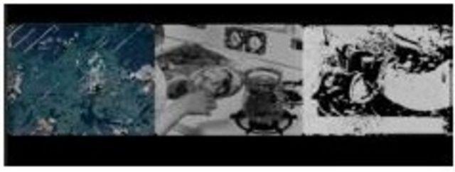 Pat O'Neill Let's Make a Sandwich, 1978 1-channel 35mm transferred to digital; 3-channel digital edit 2015 Edition 2/6 + 2AP