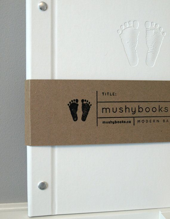 Mushybooks - finally a modern baby book