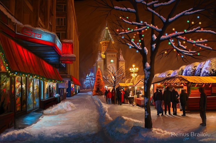 """Timisoara Christmas Market"" Photographic Prints by Remus Brailoiu 