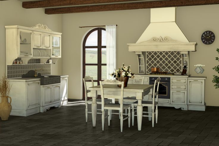 Blocco lavello blocco cucina tavolo e sedie intagliate for Cucina della nonna