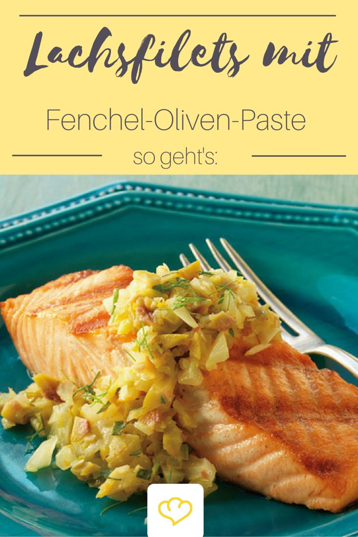 Der Lachs gehört zu den beliebtesten Speisefischarten weltweit. Er ist nicht nur besonders gesund sondern schmeckt auch unglaublich lecker, ob gebraten, geräuchert oder gegrillt! Jetzt hat jedoch erstmal die Grillsaision begonnen und deswegen gibt es bei uns heute: gebratene Lachsfilets mit Fenchel-Oliven-Paste! Mhh... lecker!