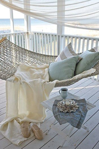 Porch hammock + color palette reference