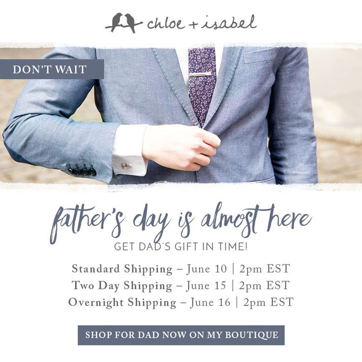 Score an amazing gift in time for Father's Day — on my boutique now!