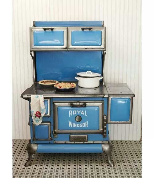 Steel And Iron 1920 S Royal Windsor Stove Oven Antique