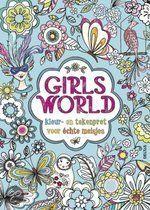 Girls' World kleur- en tekenpret